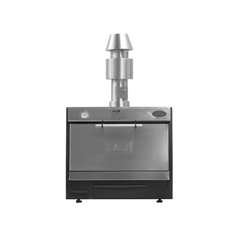 Pira 90 LUX Inox SD (with chimney kit only)