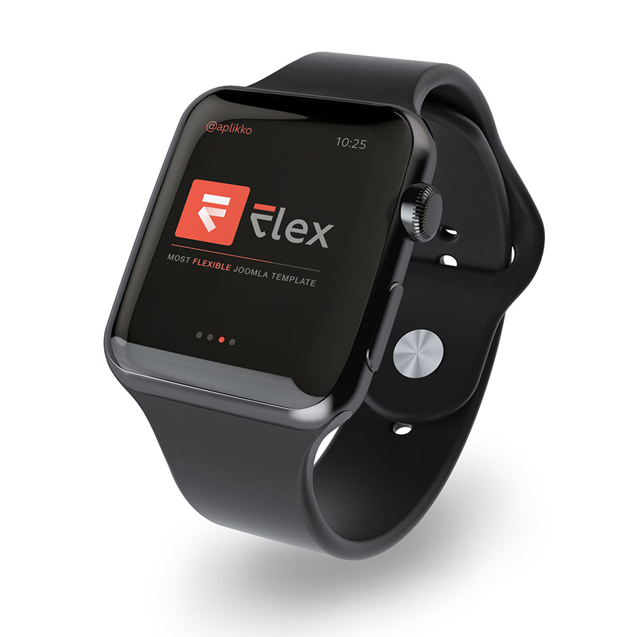 Flexible Watch BLACK-BLACK